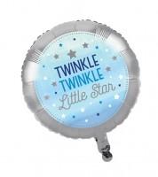 """Runder Folienballon """"One Little Star - Boy"""""""