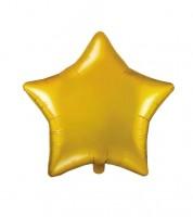 Stern-Folienballon - gold - 48 cm
