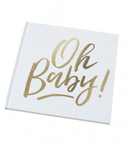 """Babyparty-Gästebuch """"Oh Baby"""""""