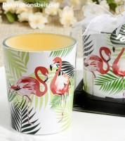 "Teelichthalter ""Flamingo"""