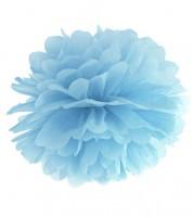 Pom Pom - 35 cm - hellblau