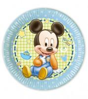 "Pappteller ""Baby Mickey"" - 8 Stück"