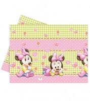 """Kunststoff-Tischdecke """"Baby Minnie"""" - 120 x 180 cm"""