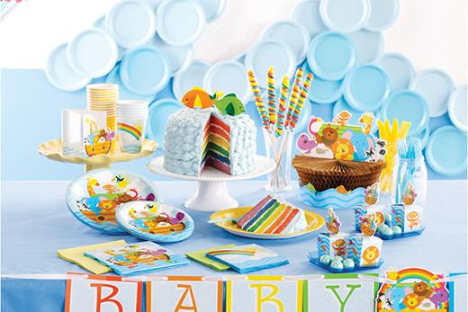 baby shower deko junge baby shower deko f r jungs deko serien babyparty baby belly party im. Black Bedroom Furniture Sets. Home Design Ideas