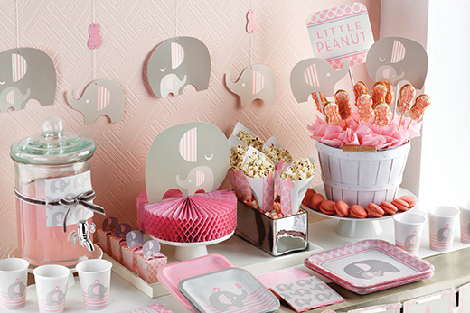 baby party deko babyparty deko kleid deko babyparty. Black Bedroom Furniture Sets. Home Design Ideas