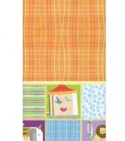 """Kunststoff-Tischdecke """"Baby Zirkus"""" - 137 x 213 cm"""