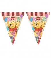 "Wimpelgirlande ""Winnie Pooh Party"""