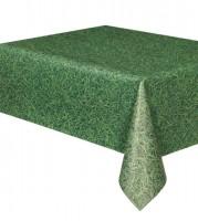 """Kunststoff-Tischdecke """"Gras"""" - 137 x 274 cm"""