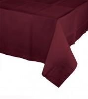 Kunststoff-Tischdecke - burgund - 137 x 274 cm