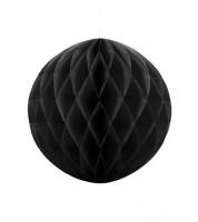 Wabenball - 20 cm - schwarz