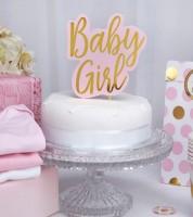 """Cake-Topper """"Baby Girl"""""""