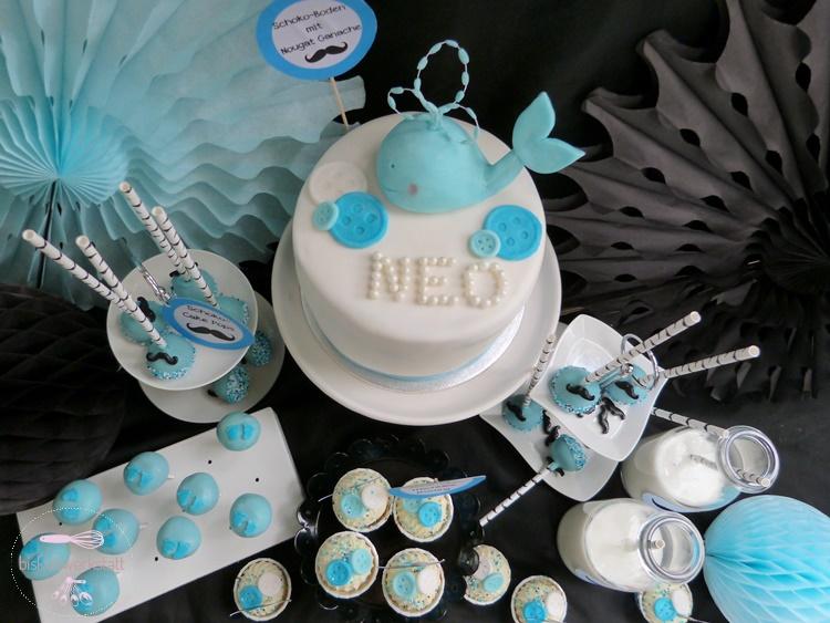 blaue wal baby shower f r little gentlemen inkl rezept baby belly party blog. Black Bedroom Furniture Sets. Home Design Ideas