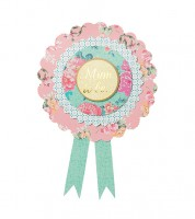 "Mum to Be Rosette ""Truly Baby"""