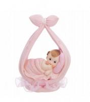 """Deko-Figur """"Baby in Windel"""" - rosa"""