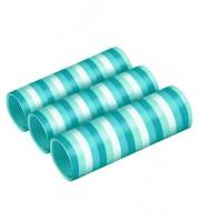 """Papierluftschlangen """"Farbmix Aqua"""" - 3 Stück"""
