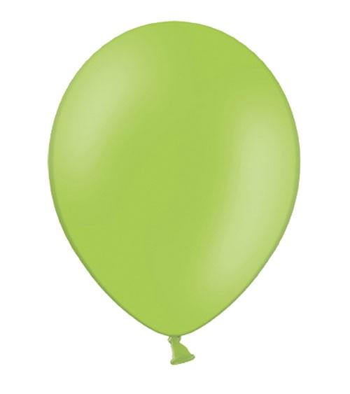 Standard-Luftballons - hellgrün - 50 Stück