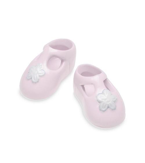 Babyschühchen aus Porzellan - rosa - 1 Paar