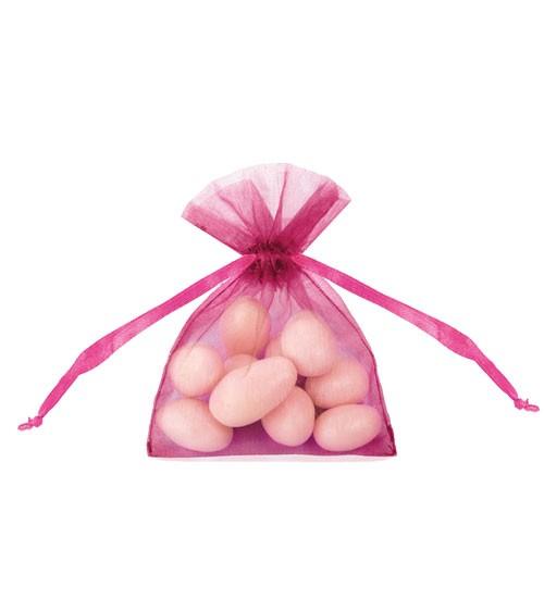 Organza-Beutel - pink - 20 Stück