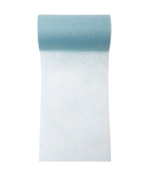 Tischband aus Vlies - pastellblau - 10 cm x 10 m