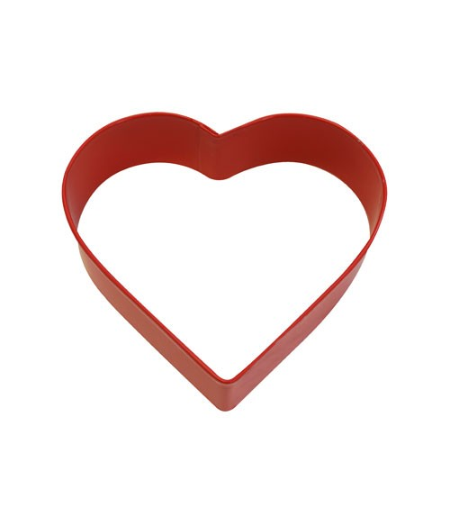 Ausstechform Herz - 8 cm