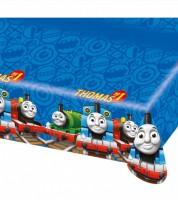 """Kunststoff-Tischdecke """"Thomas und seine Freunde"""" - 120 x 180 cm"""