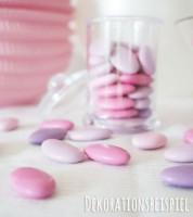"Schokoladen-Dragees ""Farbmix Pink"" - 1 kg"