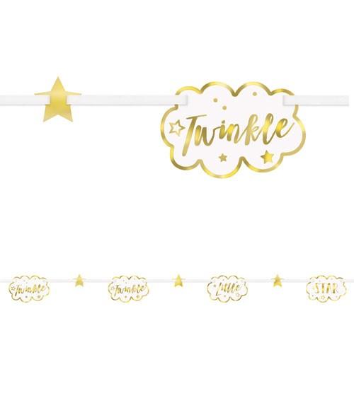 """Girlande """"Twinkle Twinkle Little Star"""" - 2,13 m"""