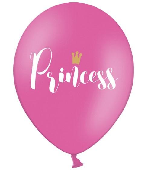 "Luftballons ""Princess"" - hot pink - 50 Stück"