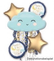 "Folienballon-Set ""Twinkle twinkle little Star"" - 5-teilig"