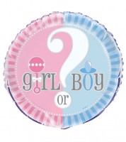 "Folienballon ""Gender Reveal Party"""