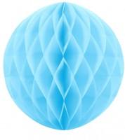 Wabenball - 40 cm - skyblue