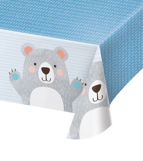 """Kunststoff-Tischdecke """"Kleiner Bär"""" - 137 x 259 cm"""