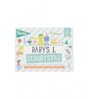 "Milestone Karten-Set ""Babys 1. Geburtstag"" - 6-teilig"