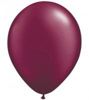 Metallic-Luftballons - burgunderrot - 10 Stück