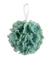 Blumenkugel - mint - 17 cm