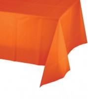 Kunststoff-Tischdecke - orange - 137 x 274 cm