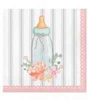 """Servietten """"Floral Baby"""" - 16 Stück"""