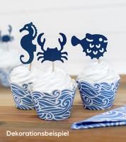 "Cupcake-Picks ""Meerestiere"" - 6 Stück"