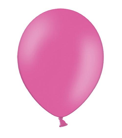 Standard-Luftballons - hot pink - 10 Stück
