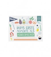 """Milestone Karten-Set """"Babys erste Momente als Feinschmecker""""- 6-teilig"""