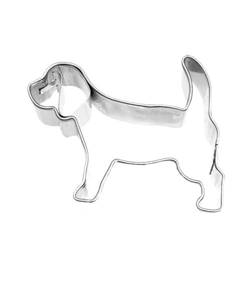 """Ausstecher mit Innenprägung """"Beagle"""" - 5 cm"""