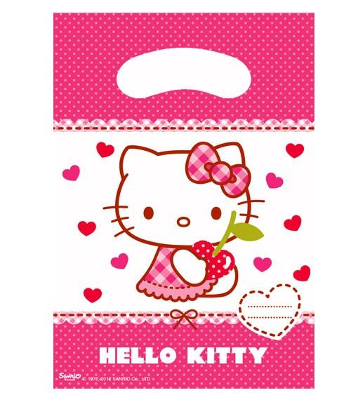 """Partytüten """"Hello Kitty"""" - 6 Stück"""