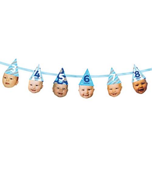 "Fotogirlande ""1st Birthday Boy"" - 1,82 m"