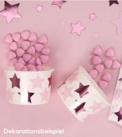 """Eisbecher """"Little Star Pink"""" - 8 Stück"""