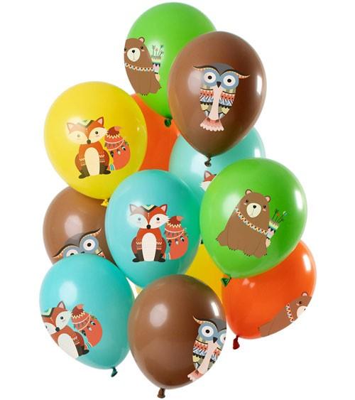 """Luftballon-Set """"Woodland"""" - Farbmix - 12-teilig"""