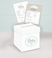 "Babyparty-Spiel ""Oh Baby"" - neutral - 21-teilig"