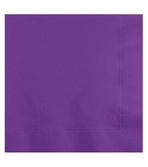 Servietten - amethyst - 50 Stück
