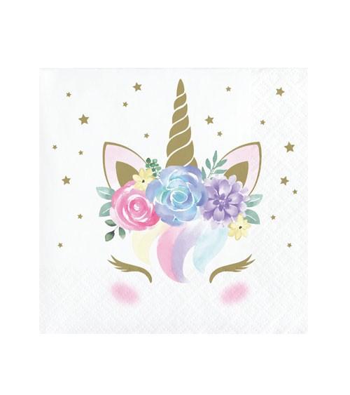 "Cocktail-Servietten ""Unicorn"" - 16 Stück"