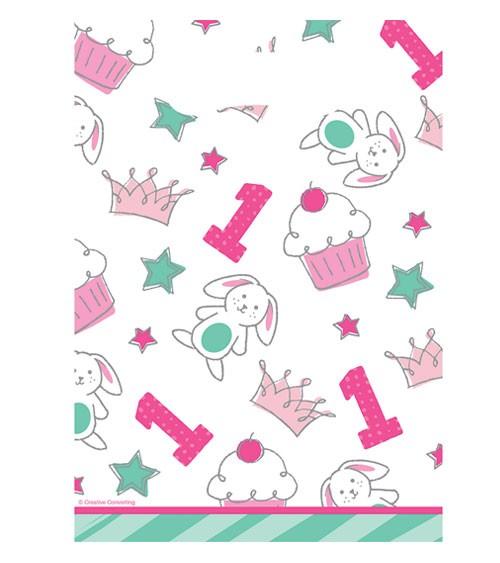 """Mitgebsel-Tüten """"Happy One - pink"""" - 8 Stück"""