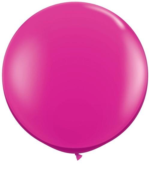 Riesiger Rundballon - pink - 90 cm